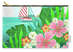 F Is For Flamingo Carry-all Pouch