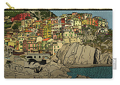 Of Houses And Hills Carry-all Pouch