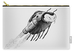 Lady Rocket Bug Carry-all Pouch