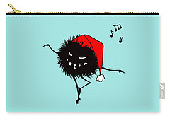 Singing And Dancing Evil Christmas Bug Carry-all Pouch