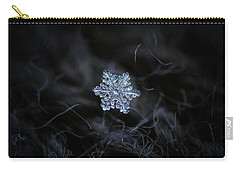 Real Snowflake - 2017-12-07 1 Carry-all Pouch
