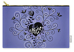 Dark Abstract Fixed Broken Heart Carry-all Pouch