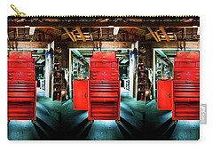 Mechanics Toolbox Cabinet Stack In Garage Shop Carry-all Pouch