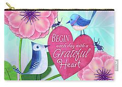 Attitude Of Gratitude Carry-all Pouch