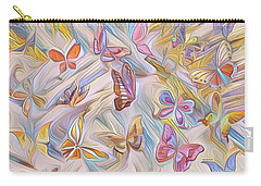 Butterflies Abstract  Carry-all Pouch