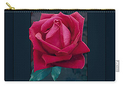 Rose Of Many Colors Carry-all Pouch