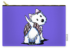 Dressed To Kilt Westie Carry-all Pouch