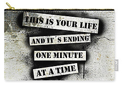 This Is Your Life - Fight Club Carry-all Pouch