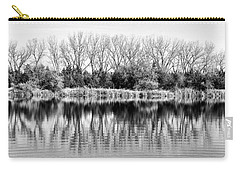 Carry-all Pouch featuring the photograph Rippled Reflection by Bill Kesler
