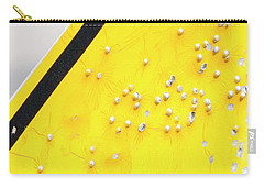 Carry-all Pouch featuring the photograph That's Not Braille by Bill Kesler