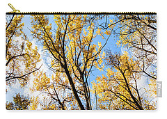 Carry-all Pouch featuring the photograph Looking Up by Bill Kesler