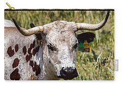 Carry-all Pouch featuring the photograph Call Me Spot by Bill Kesler