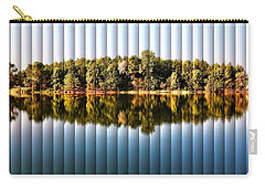 Carry-all Pouch featuring the photograph When Nature Reflects - The Slat Collection by Bill Kesler
