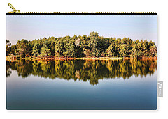 Carry-all Pouch featuring the photograph When Nature Reflects by Bill Kesler