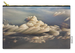 Carry-all Pouch featuring the photograph Cupcake In The Cloud by Bill Kesler