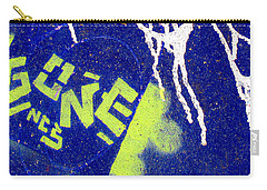 Carry-all Pouch featuring the photograph At The Skatepark by Ethna Gillespie