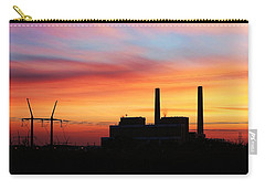 Carry-all Pouch featuring the photograph A Gentleman Sunrise by Bill Kesler