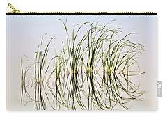 Carry-all Pouch featuring the photograph Graceful Grass by Bill Kesler
