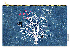 Dreamcatcher Tree Carry-all Pouch by Methune Hively