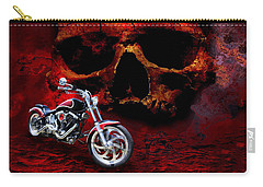 Heaven And Hell Carry-all Pouch by Linda Lees