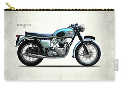 Triumph Bonneville 1961 Carry-all Pouch by Mark Rogan