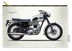 Triumph Bonneville 1963 Carry-all Pouch by Mark Rogan