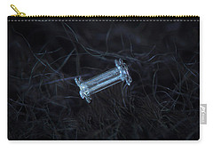 Snowflake Photo - Capped Column Carry-all Pouch