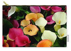 Arum Lilies Carry-all Pouch