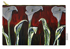 Arum Lillies Carry-all Pouch