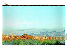 Arzachena Landscape With Mountains Carry-all Pouch