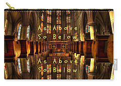 As Above So Below Carry-all Pouch