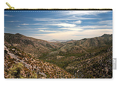 Carry-all Pouch featuring the photograph As Far As The Eye Can See by Joe Kozlowski