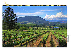 Carry-all Pouch featuring the photograph As Far As The Eye Can See by Skip Hunt