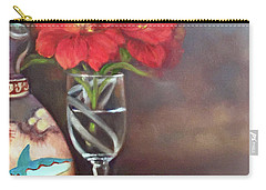 Carry-all Pouch featuring the painting As If In A Dream by Marlene Book