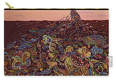 As Sun Goes Down Carry-all Pouch by Erika Pochybova