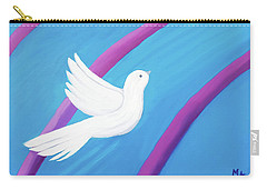 Carry-all Pouch featuring the painting Ascending by Margaret Harmon