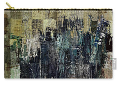 Carry-all Pouch featuring the painting Ascension - C03xt-159at2c by Variance Collections