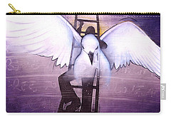 Carry-all Pouch featuring the painting Ascension by Christopher Marion Thomas