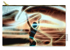 Carry-all Pouch featuring the digital art Ascension by Pennie McCracken