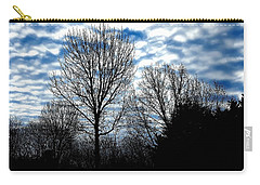 Ash Trees Against A Mackerel Sky Carry-all Pouch
