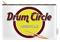 Asheville Drum Circle Logo Carry-all Pouch