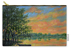 Ashore At Dusk 2 Carry-all Pouch