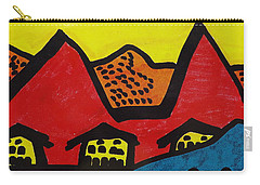 Asian Village  Carry-all Pouch