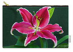 Oriental  Lily Aka Stargazer Carry-all Pouch
