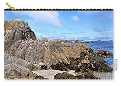 Asilomar State Marine Reserve Carry-all Pouch by Gina Savage