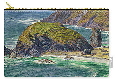 Asparagus Island Carry-all Pouch by William Holman Hunt
