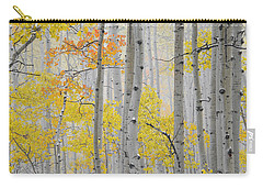Aspen Forest Texture Carry-all Pouch