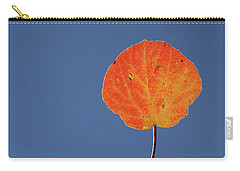 Aspen Leaf 1 Carry-all Pouch by Marie Leslie
