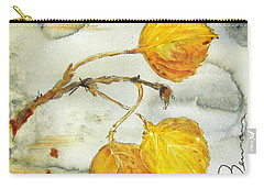 Aspen Leaves Carry-all Pouch by Dawn Derman
