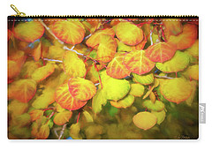 Aspen Leaves Carry-all Pouch